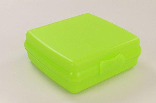 TUPPERWARE Sandwich-Box To Go Brotbox Dose Behlter grün 9921