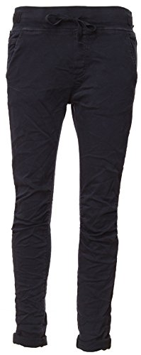 BASIC.de Cotton Stretch-Hose im Jogging-Pant Style Dunkelblau XL