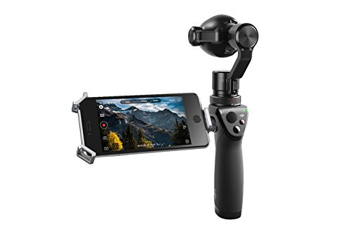 DJI Osmo+ - Cámara de 12 MP (4 K, CMOS, selfies en movimiento, larga exposición, función panorámica, zoom integrado) color negro