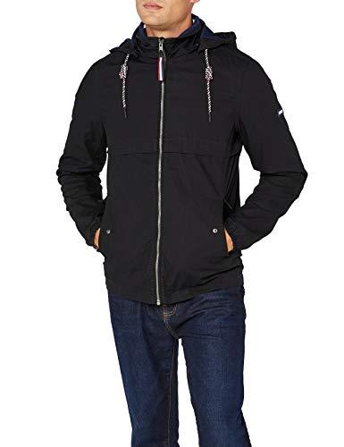 Tommy Jeans Herren Essential Anorak  Jacke Jacke Schwarz (Tommy Black 078) XX-Large