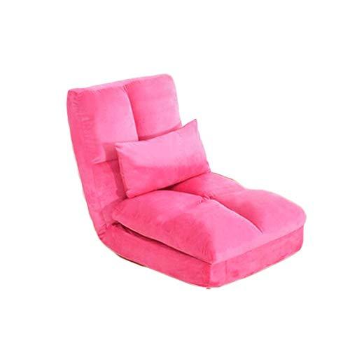 ZL-Sillón puff sofá Perezoso Cama Individual Simple Dormitorio peque