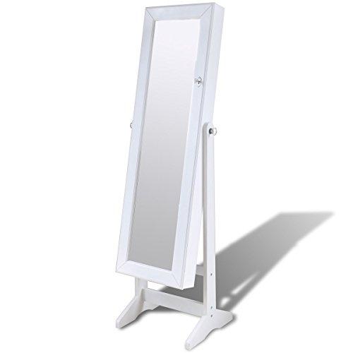 Espejo-joyero-blanco-de-pie-con-luz-LED