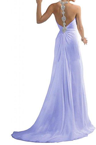 Toscana sposa dall'effetto Empire Chiffon stanotte vestimento un'ampia Party dal giovane sposa per abiti da sera mode ball Lavanda