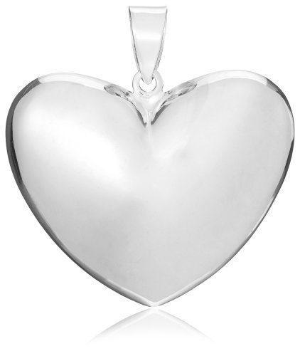 Tuscany silver sterling silver large puffed heart pendant the tuscany silver sterling silver large puffed heart pendant aloadofball Images