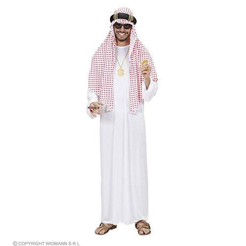 Lively Moments Herren Kostüm Scheich / Araber Tunika mit Kopfbedeckung / Fasching Verkleidung Gr. XL = ()