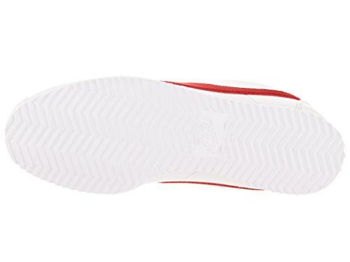 Nike Jungen Cortez (Gs) Laufschuhe Weiß/Rot (White/University Red)