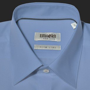 Einhorn -  Camicia Casual  - Uomo Blu