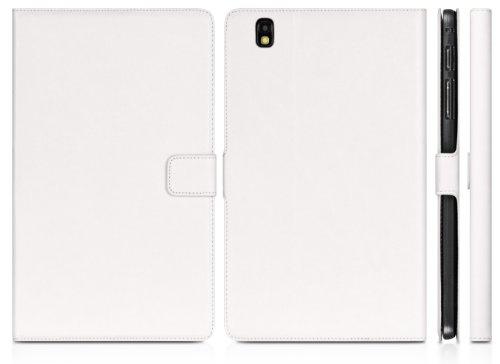 DONZO Wallet Washed Tablet Tasche für Samsung Galaxy Tab Pro 8.4 T320 T325 Weiß - 2