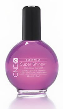 CND Super Shiney High-Gloss Top Coat 2.3oz/68ml by Beauties Factory (Super-high-gloss Top Coat)