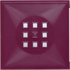 Designer Tür als Fach-Einsatz für Ikea mit Expedit+Kallax Regal* Weihnachten Deko Violett-Purpur (rötlich)