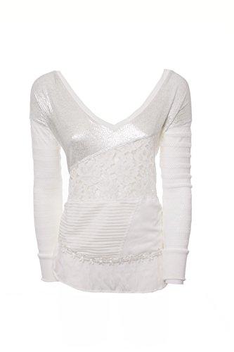 desigual-femme-t-shirt-manches-longues-malta-74t2wg2-xxl-blanc