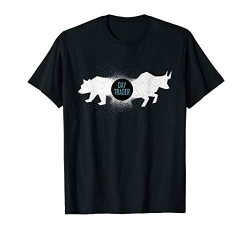 Day Trader Trading Aktien Handel Bulle Bär Geschenk T-Shirt