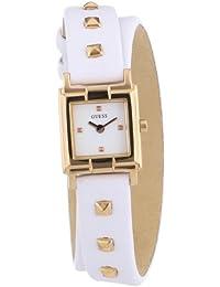Guess Damen-Armbanduhr XS Analog Quarz Leder W85123L2