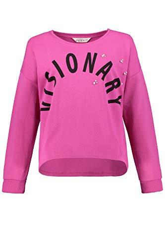 Studio Untold Damen große Größen Sweatshirt pink 54/56 720303 57-54+ -