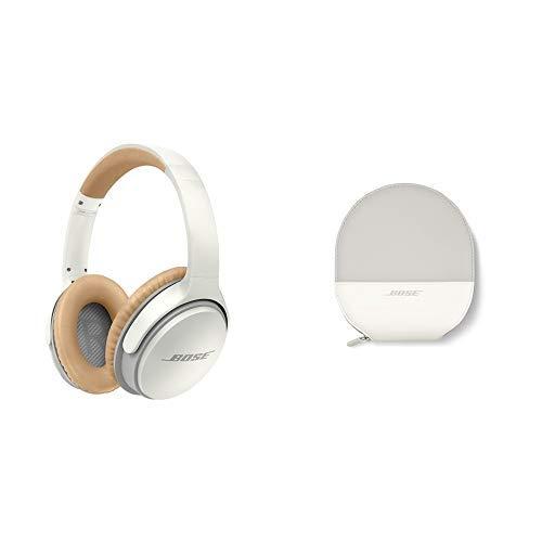 Bose ® SoundLink around-ear kabellose Kopfhörer II weiß & SoundLink Transportetui für Around-Ear drahtlos Kopfhörer II weiß