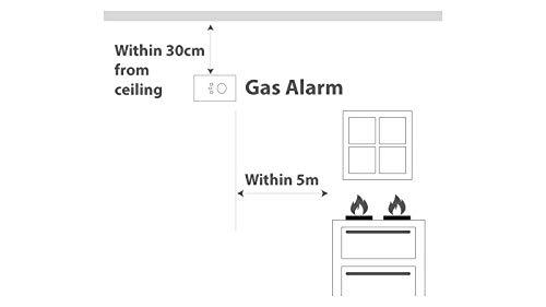 Fireangel NG-9B Alarme gaz