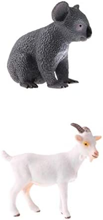 D D D DOLITY 2Pcs Jouet éducatif   Modèle d'animaux Miniatures de Simulation en Plastique Cadeau d'anniversaire de Garçons | Excellente Qualité  f353dc