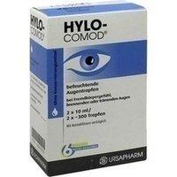 HYLO-COMOD Augentropfen 2X10 ml (Feuchtigkeit Wasser-therapie)