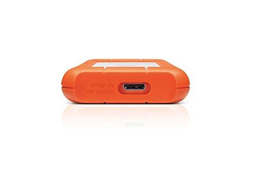 LaCie - Rugged Mini 1TB USB 3.0 Portátil 2.5' Disco duro externo para Mac y PC