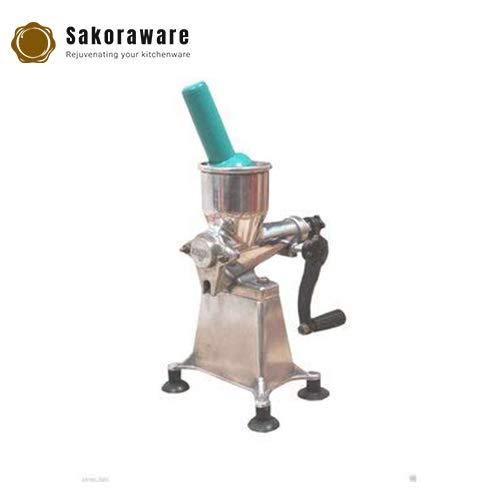 Sakoraware® Manual Aluminum Juicer for Fresh Fruits, White, Medium Size for Home/Gift