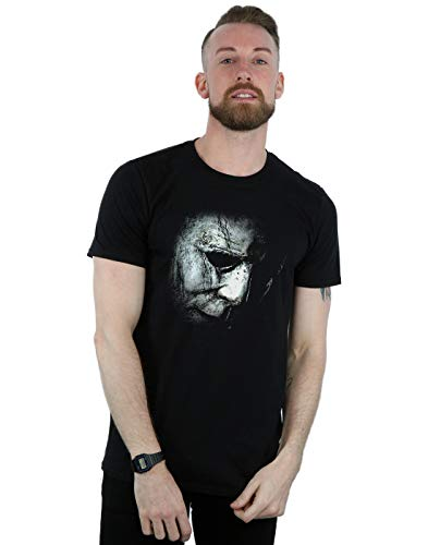 loween Mask T-Shirt Schwarz Medium ()