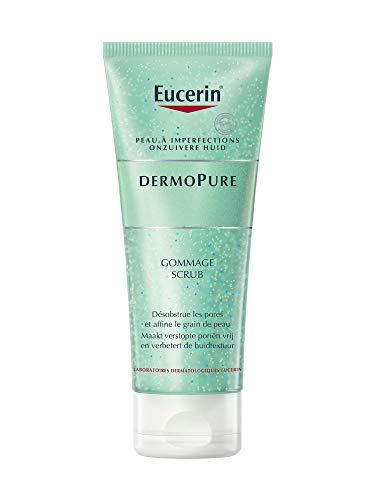 Eucerin Dermo Pure Scrub Peeling Unreine Haut 100Ml