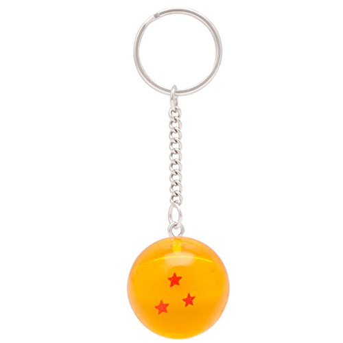 (3S) LLavero 3D Dragon Ball Z (3 Estrellas) - Bola de Dragón Z