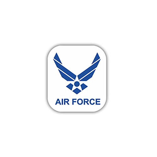 Aufkleber/Sticker Air Force US Luftwaffe Militär Soldaten Wappen 7x7cm A935 -