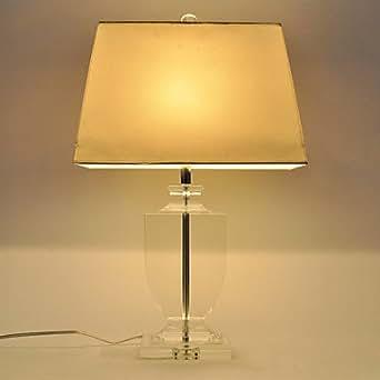 Moments Lampe Lampe 60W E27 tableau Avec abat-jour Ladder Blanc Style et transporteur en cristal