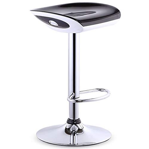 BYZ Sitz Stuhl-Bar Stuhl European Abs Stuhl Oberfläche Galvanik Chassis Bar Stuhl Bar Home kann Barhocker Versteckte Lift Wrench Fashion Sicherheit Gas - Stange mit Fußstütze Rezeption Stühle - Sch - 2 Sitz Sofa Rezeption