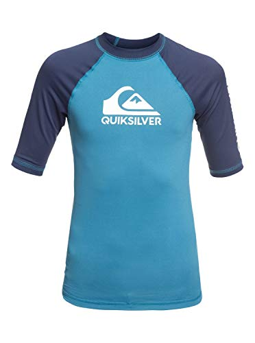 Quiksilver Jungen On Tour S/sl Surf Tee, Southern Ocean, S/10