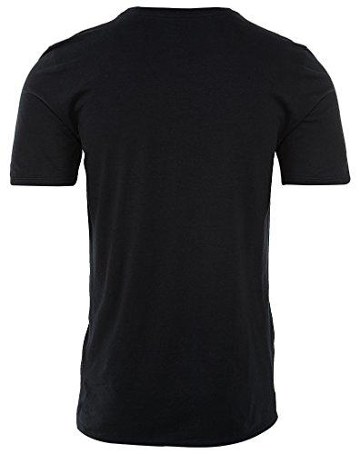 Nike Pure Money Bank Note maglietta, Uomo nero