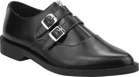T.U.K Mens Vivalow Creeper Leather Shoes Noir