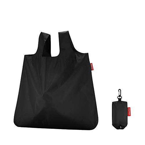 reisenthel mini maxi shopper black Maße: 45 x 53,5 x 7 cm / Volumen: 15 l / waschbar bei 30 °C