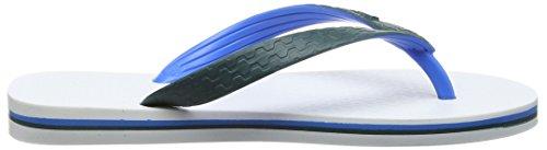 Ipanema Brazil Bicolor Unisex Unisex-Erwachsene Zehentrenner Mehrfarbig (white blue green 8464)
