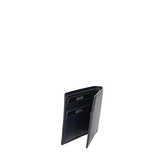 Guess Sm4013lea27, Borsa Organizer Portatutto Uomo, 2x9.8x12.4 cm (W x H x L) Blu (Blue Navy)
