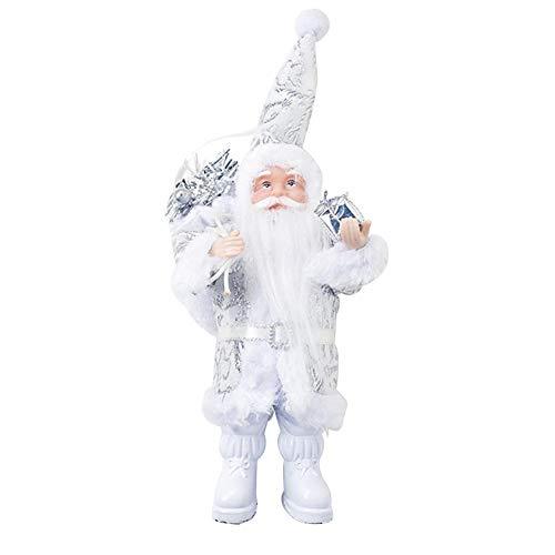 cassiela Ciondolo Bambola Natale Babbo Natale Ornamento Bambola Collezione di Figurine Collezione Permanente Mini Bambola di Babbo Natale Cute