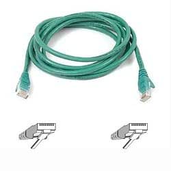 Belkin Cat5e Snagless UTP Patch Cable, 3 m - Green