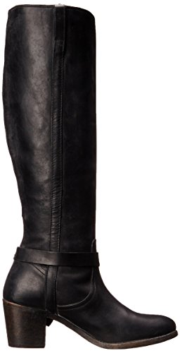 Frye Malorie Knotted Tall Cuir Botte Black