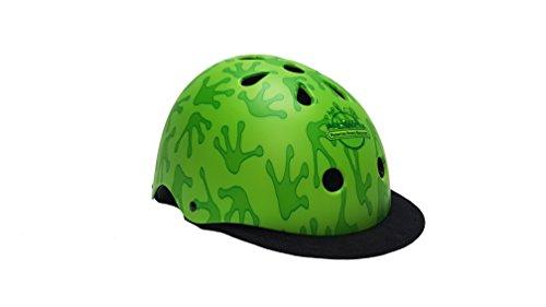 Park City Kinder Frog Multisport Helm, Green, 54-56 cm