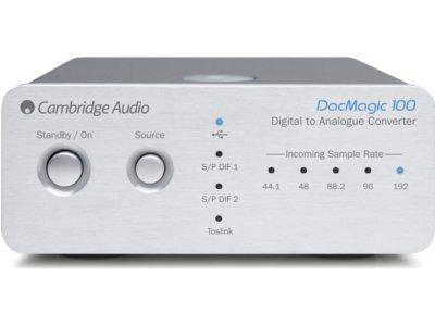 Cambridge Audio DacMagic 100 silber DA-Wandler