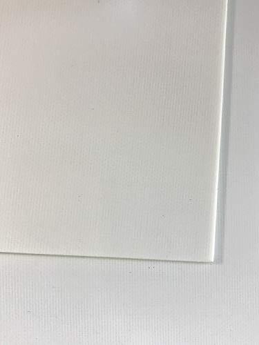 0,5 mm GFK Platte FR4 Tafelformat ca. 500 x 250 mm Glashartgewebe weiß 0.5-platte