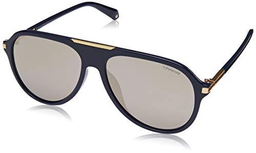 Polaroid Sonnenbrillen (PLD-2071-G-S-X PJPLM) blau - gold - grau polarisierte mit verspiegelt effekt