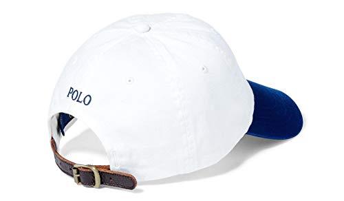 Imagen de ralph lauren classic sport   talla única , color blanco y azul alternativa