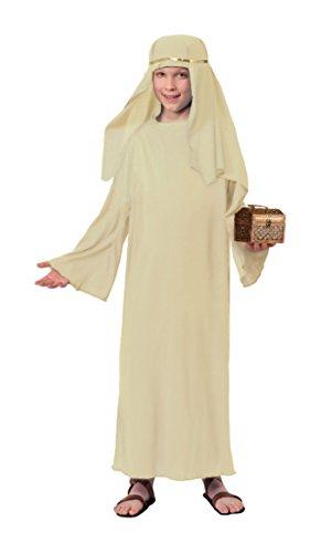 Kinder Kostüm Biblische - Forum Elfenbeinfarben biblischen Bademantel mit Kopfschmuck Kostüm für Kinder