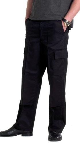 Preisvergleich Produktbild Fracht Hose mit Knieschutz Tasche Navy 40 L