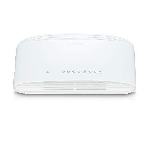 D-Link DGS-1008D - Switch de red con 8...