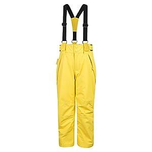 Mountain Warehouse Falcon Extreme Skihose für Kinder – Winterhose, Schneehose, wasserfeste Kinderhose, Schneegamaschen, Sicherheitstaschen- Für Skiurlaub