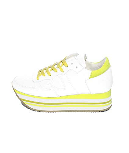Philippe Model Eild-EIFFFEL Sneakers Donna Bianco 37 8c63786e231