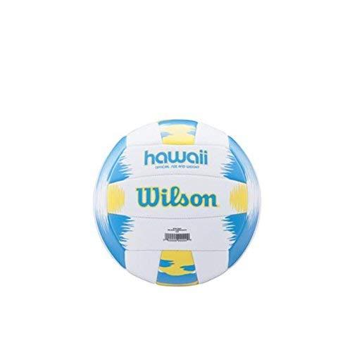 Wilson Beach Volleyball, Outdoor, Freizeitspieler, Offizielle Größe, AVP HAWAII, Blau/Gelb, WTH482657XB -